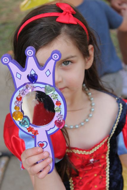 "Mirror as party favor    Photo 28 of 28: Snow White / Birthday ""Sophie's snow white, mirror mirror"" 