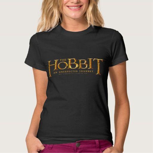 The Hobbit Logo Gold