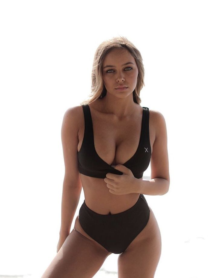 cb2fbd855 Manhattan Black Yogi Top in 2019 | Boutine LA Bikini Tops | Boutine ...