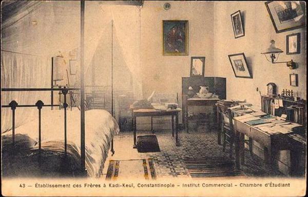 Öğrenci Odası (1900'ler) St Joseph #Kadikoy #birzamanlar #istanbul #istanlook