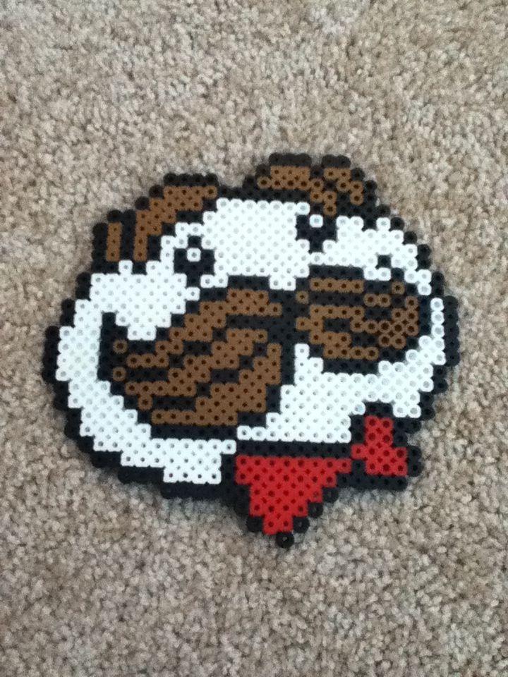 Pringles logo perler beads! So cool!