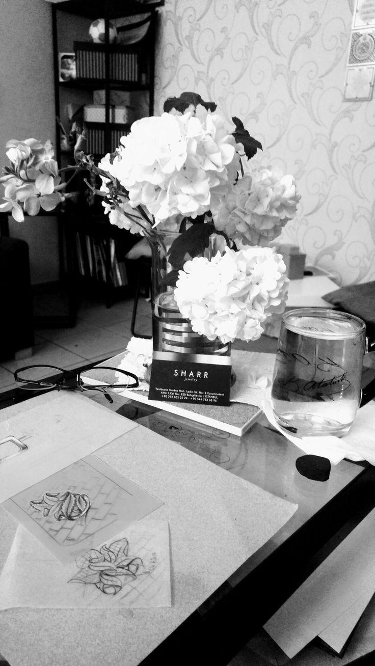 Bilge $AR Aysel jewellery design sketches