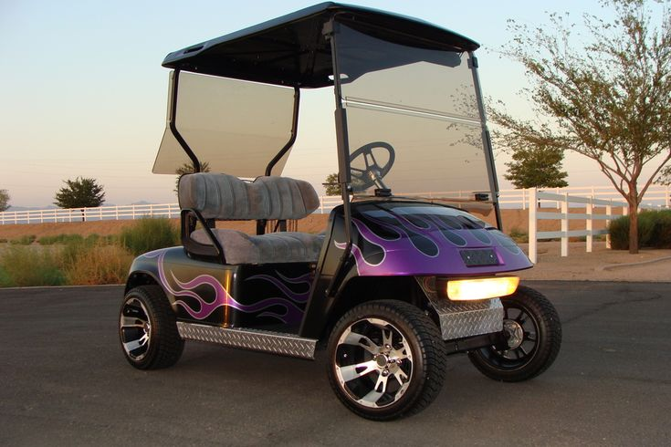 Cool Golf Cart Paint Jobs | … GOLF CART, LOADED, FAST in Golf Cars (Electric &…