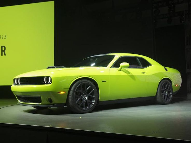 2015 Dodge Challenger at New York International Auto Show