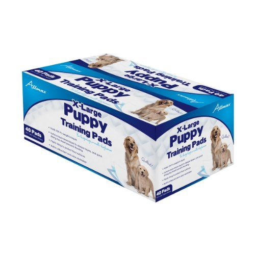 Allmax Puppy Training Pads 275Inch by 355Inch XLarge 40Piece *** Continue to the product at the image link.