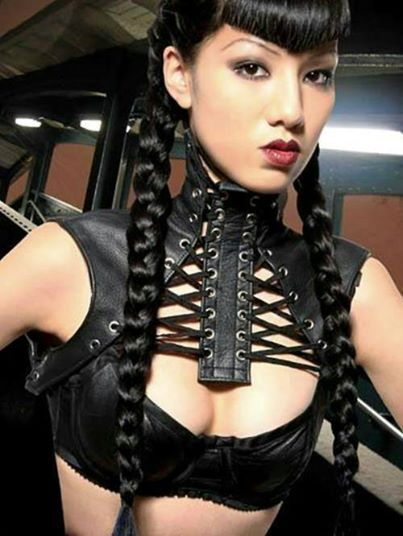 What pair Fetish neck brace corset had great
