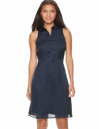 The Limited - Sleeveless Shirtdress