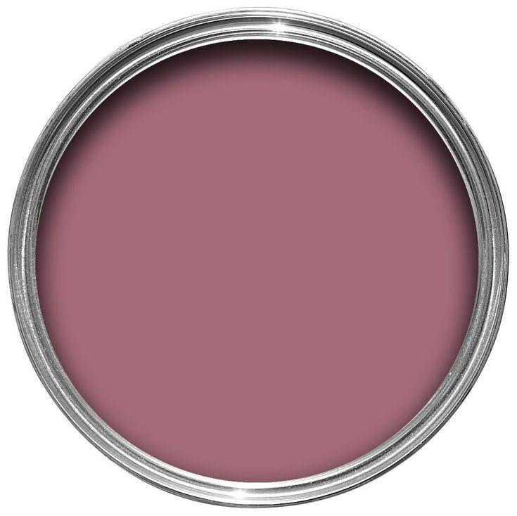 Dulux Once Raspberry Diva Matt Emulsion Paint 2.5L | Departments | DIY at B&Q