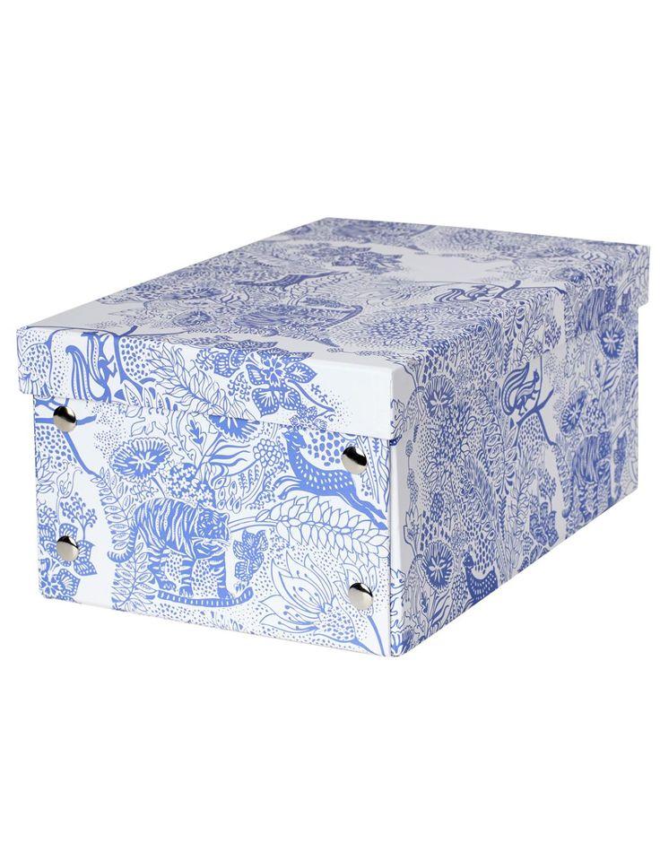 SUNDERBANS BOX S eske hvit