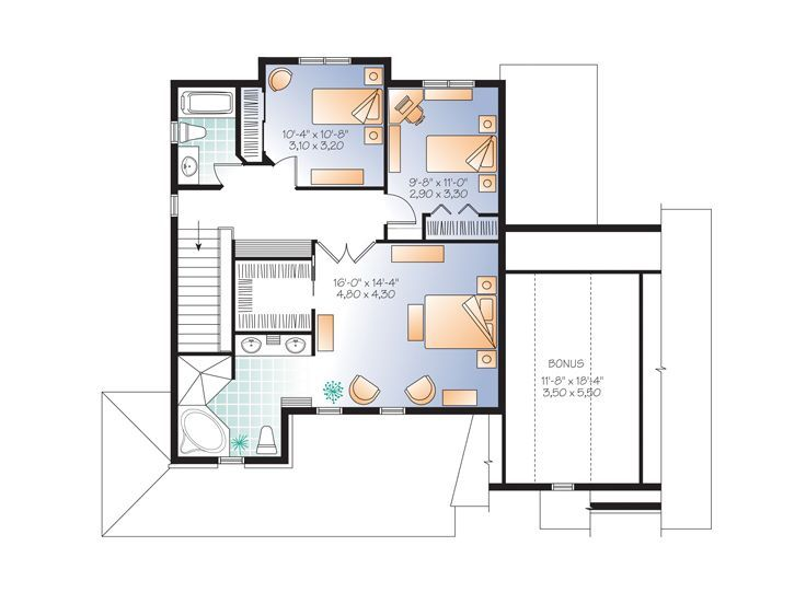 Best 25 unique house plans ideas on pinterest craftsman for Unique european house plans