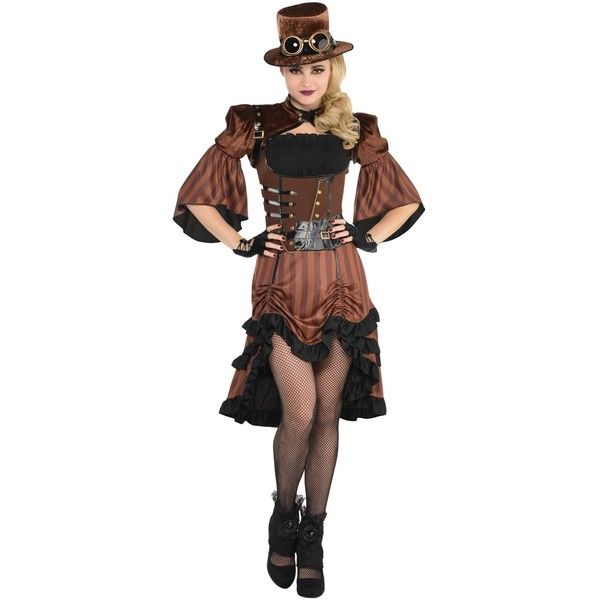 Dream Steamy Adult Costume ($47) ❤ liked on Polyvore featuring costumes, halloween costumes, sexy adult halloween costumes, sexy halloween costumes, adult costumes, sexy costumes and sexy adult costumes