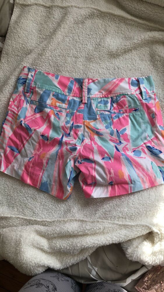 eb3bb21edaae20 Lilly Pulitzer callahan Shorts 00/0 XS/SMALL worn Once Preppy MSRP $65  #fashion #clothing #shoes #accessories #womensclothing #shorts (ebay link)