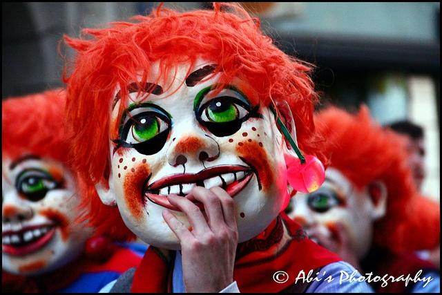 Carnival in Basel (Fasnacht), Switzerland