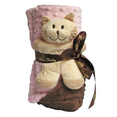 Warm Buddy Baby Blanket – Pink