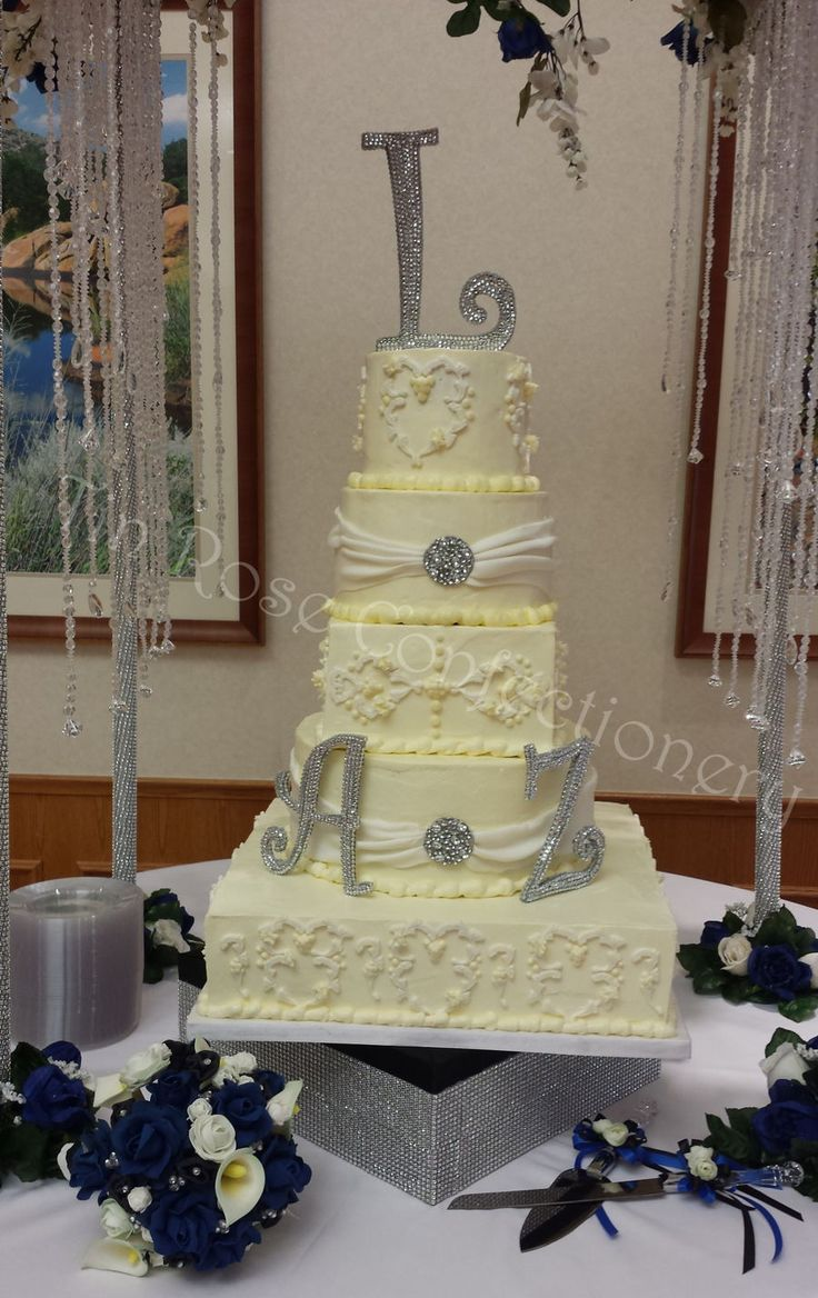 Best Cream Wedding Cakes Ideas On Pinterest Elegant Wedding