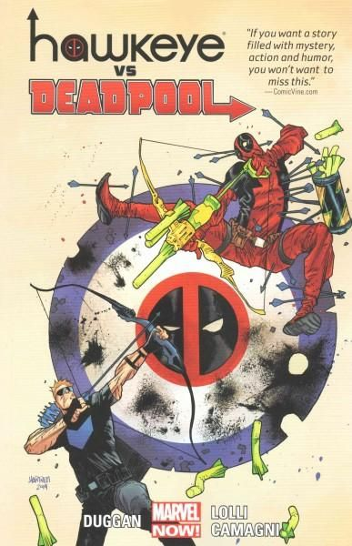 Hawkeye vs. Deadpool (Paperback) by Marvel