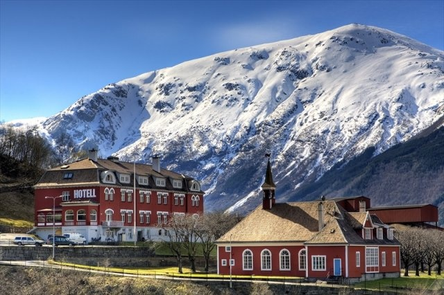 Tyssedal Hotel - the perfect base to explore Trolltunga in Hardangerfjord, Norway.    #Tyssedal #Odda #Trolltunga #Hordaland #Norway #visitnorway #summer