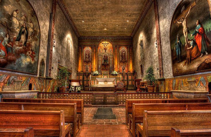 Mission Santa Barbara ~ Santa Barbara ~ California                                                                                                                                                                                 More
