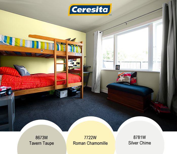 #CeresitaCL #PinturasCeresita #color #habitacion #pintura #decoración  #espacios *Códigos de color sólo para uso referencial. Los colores podrían lucir diferentes, según calibrado de su monitor