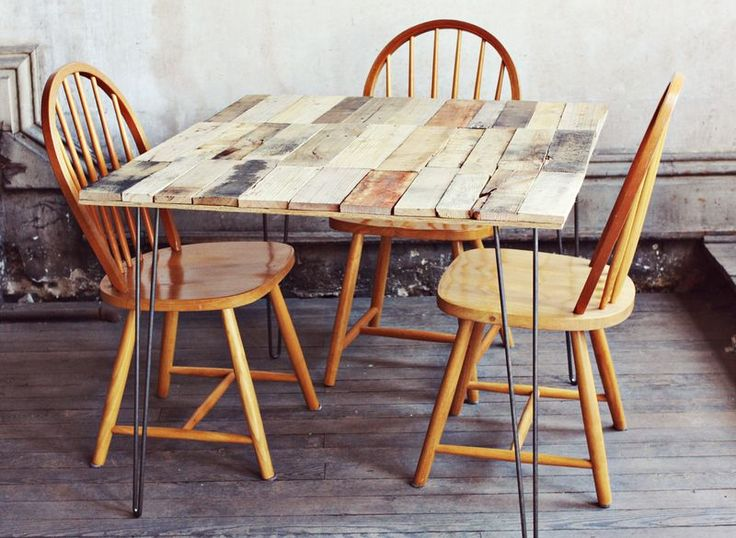 Wood Pallet Table DIY | A Beautiful Mess