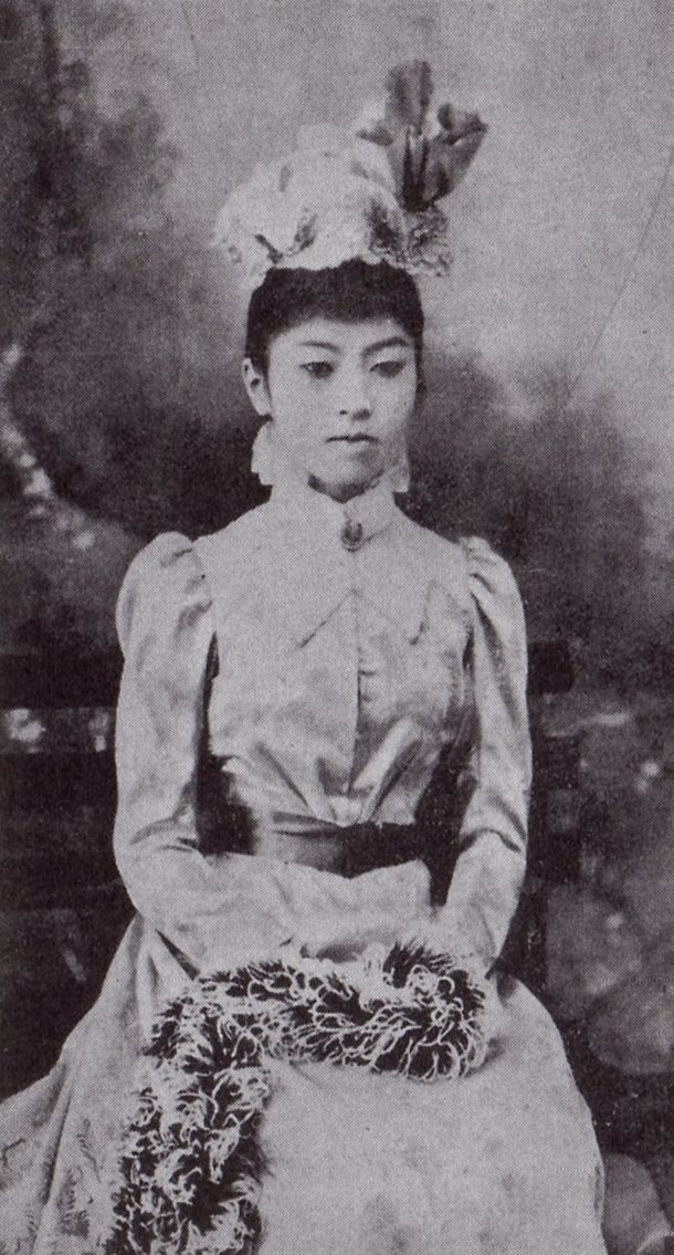 Empress Teimei 貞明皇后, Kujou Sadako 九条節子 (1884-1951), 15 years-old, future mother…
