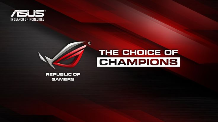 Asus The Choice Of Champions Rog | Brand And Logos HD ...
