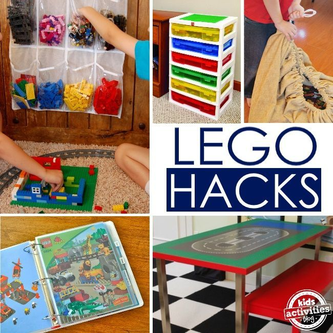 Genius LEGO hacks, ideas, products and inspiration. So much LEGO goodness here!