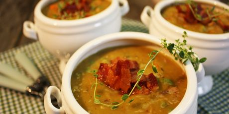 Pig and Pea Soup