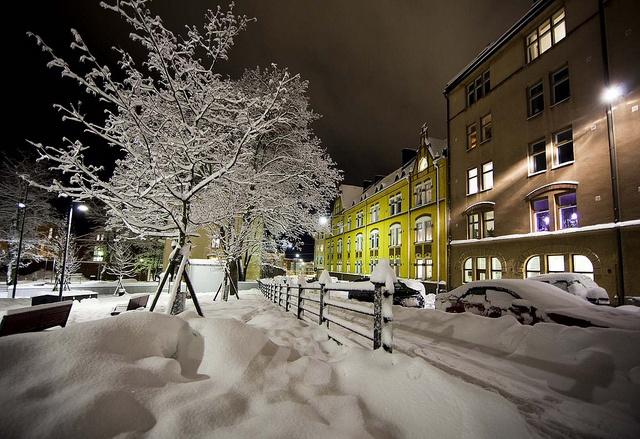 Winter in Helsinki by Visit Finland, via Flickr
