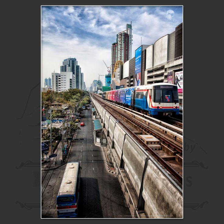 The Bangkok BTS System.  https://www.facebook.com/HannaDesignsPhotography  © 2012 - HANNAdesigns Photography - All rights reserved