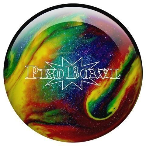 EBONITE PB BALL VIOLET/ BLUE/ YELLOW SPARKLE - Bowlingové koule na rovné hraní - Bowlingové koule | X Shop Bowling