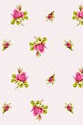 PiP Roses and Dots White wallpaper | PiP Studio ©