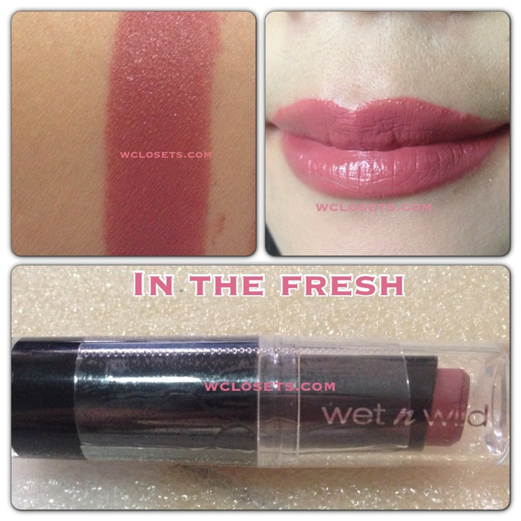 Wet n wild lipstick in the flesh. Avalaible in www.wclosets.com www.facebook.com/wclosets