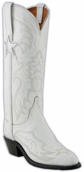 Ladies Lucchese NFL Dallas Cowboys Cheerleaders Boots