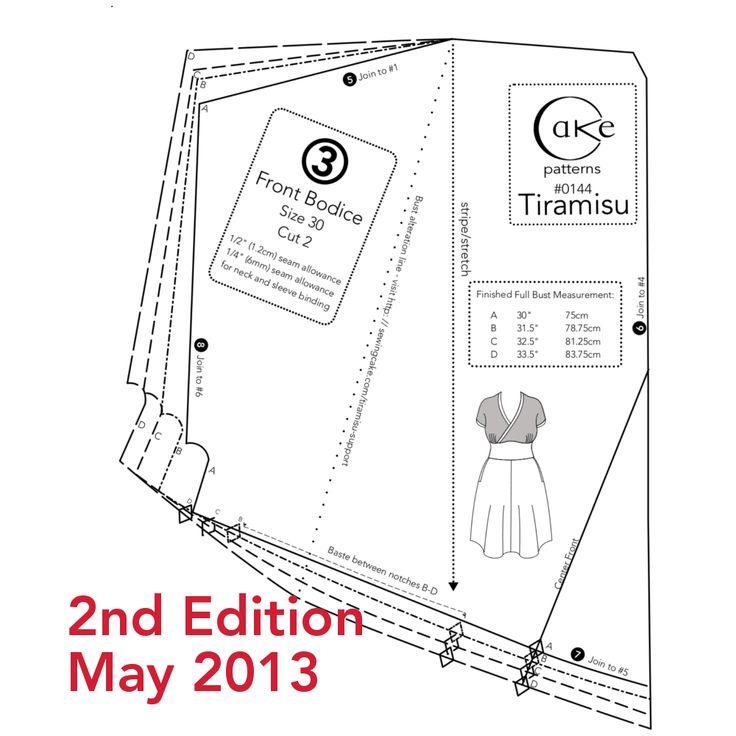 Tiramisu Bodice Revision Preview
