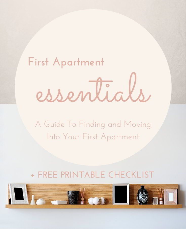Whether you're stressing or stress-free, check out these tips for finding and moving into your first apartment!