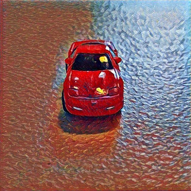 #micromachines #retrotoys #90stoys #cars #chevrolet #corvette #c5 #redcorvette #prisma #prismaart    #Regram via @richardbercich