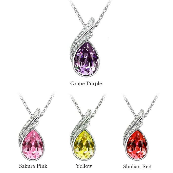 Temukan dan dapatkan Kalung Swarovski Austrian Crystal Elements Fashion Jewelry hanya Rp 195.000 di Shopee sekarang…