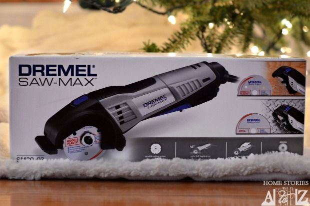 Dremel Saw-Max. Great little circular saw that you can use to make straight cuts. Giveaway.