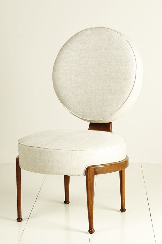 """""""A IS FOR ANDRE ARBUS French chairs, circa 1940 https://www.houseofhoney.la/design-dictionary/a #WhiteChair"""