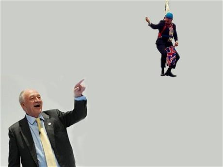 Boris Johnson's zip wire mishap becomes an online sensation - Telegraph