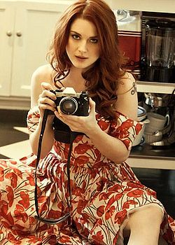 Alexandra Breckenridge Famous People With Cameras