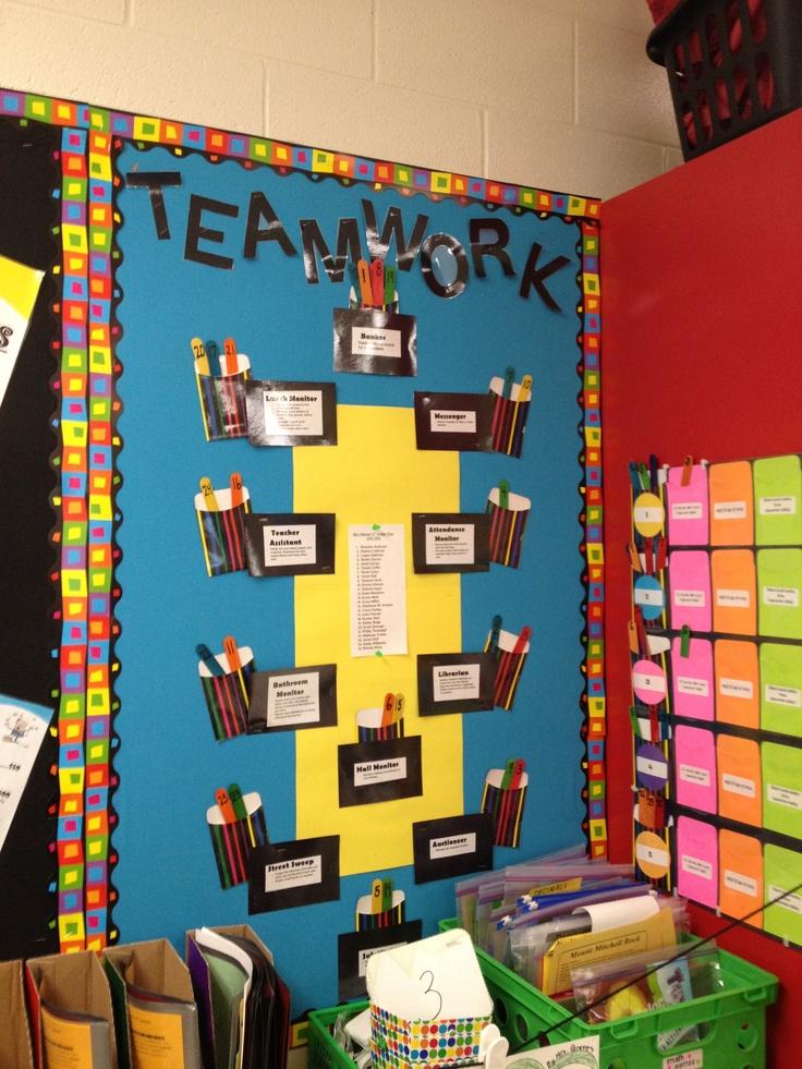 Classroom jobs display my classroom pinterest