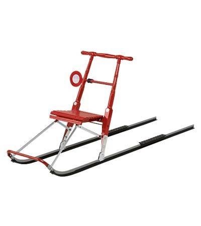 Kick-sled, comfortable transportation on snow