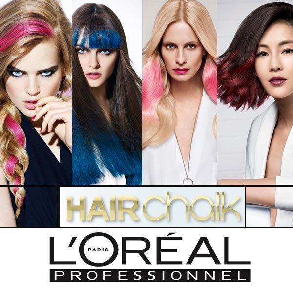 http://shop.sereni.net/loreal/hairchalk.html Volete aggiungere un po' di colore ai vostri capelli per questa stagione? Sereni Hair-Stylist presenta HairChalk, il primo #make-up per #capelli di L'Orèal Professionnel per giocare con le tonalità più cool del momento.