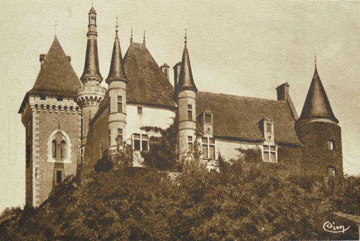 French Unused Postcard - Iteuil Château,Vienne, Poitou-Charentes, France by ChicEtChoc on Etsy