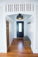 Pete and Andy's Living and Hallway - Room Reveals - Pete and Andy - Teams - The Block NZ - Shows - TV3
