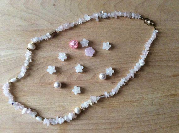 Crystal necklace Collana di cristallo di quarzo di CheloCollection