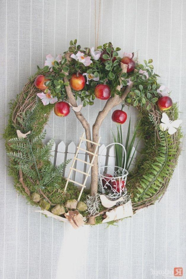 Türkranz Sommer Apfelbaum / 2 Türkränze Garten & Floristik Mit Liebe ha   – Bäume Garten