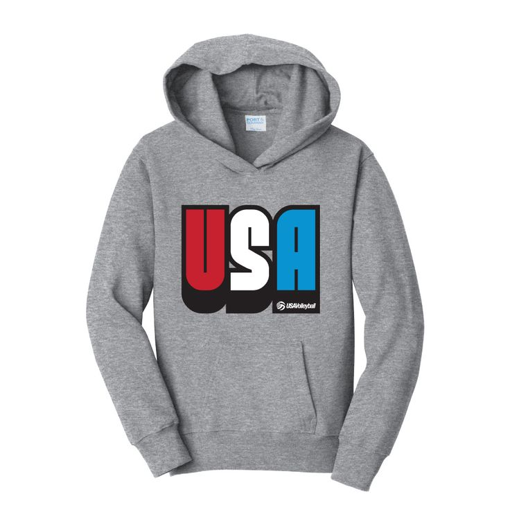 USA Volleyball Youth USA Hoodie | USA Volleyball Shop